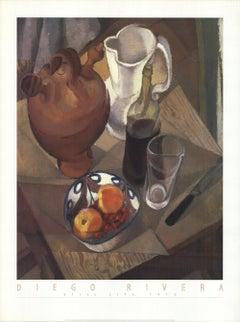 1998 Diego Rivera 'Still Life, 1913' Switzerland Offset Lithograph