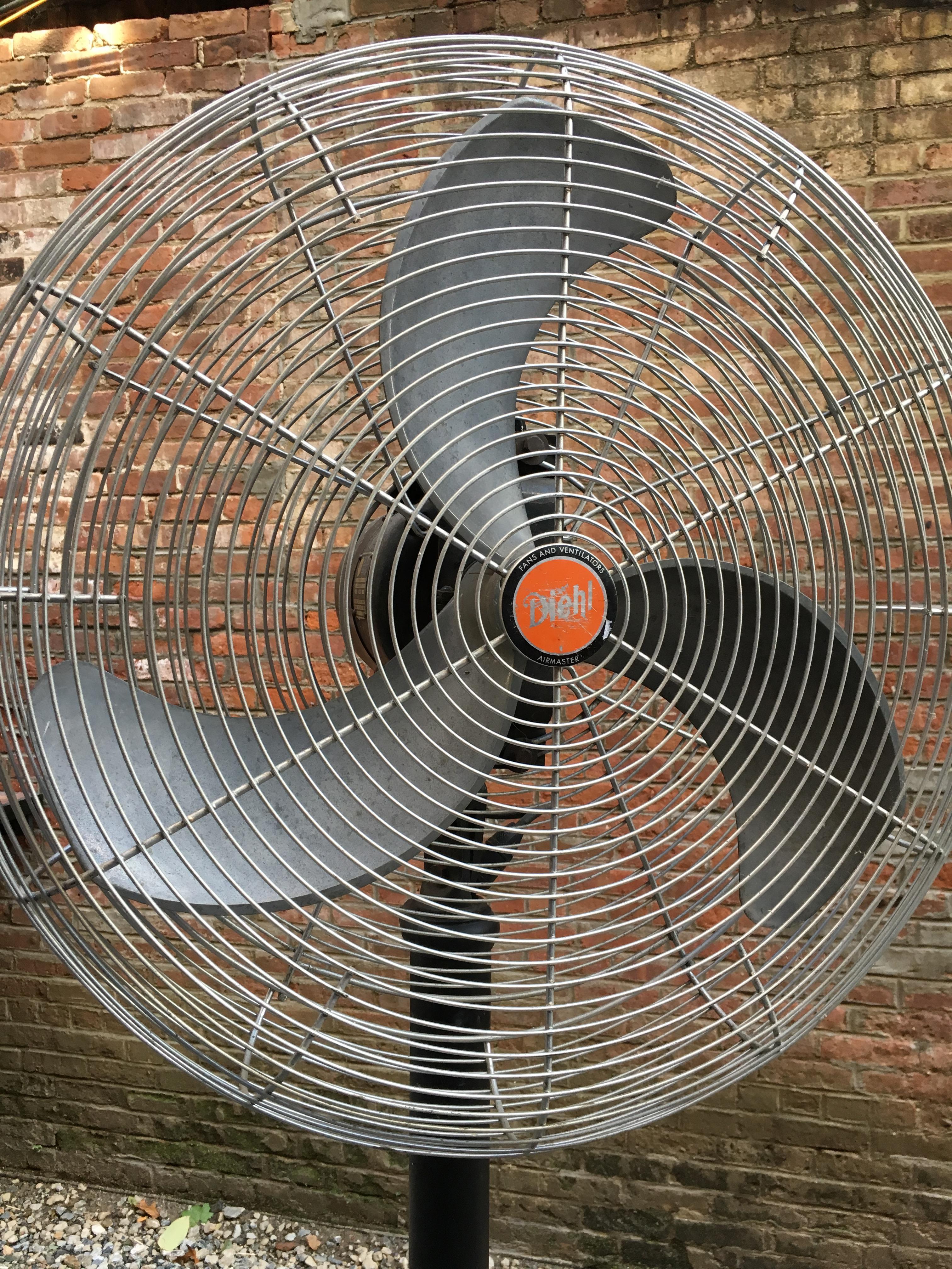 Diehl Industrial Airmaster Oscillating Floor Fan