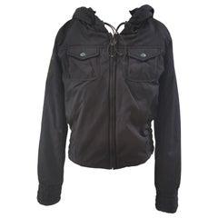 Diesel black bomber jacket