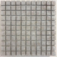o.T. (Gy22Sq) - grey contemporary modern wall sculpture painting relief