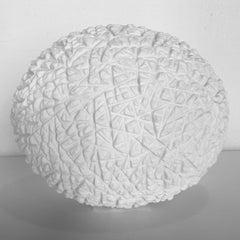 o.T. weiss - contemporary modern abstract organic sculpture