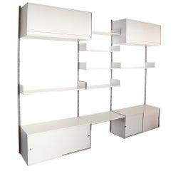 Dieter Rams 3 Section 606 Universal Shelving System for Vitsoe