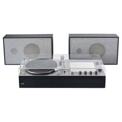 Dieter Rams, Braun Audio 250 TC45/3 Hi-Fi Radiogram Record Player, L345 Speakers
