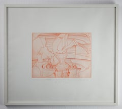 Ausblick // Outlook // one of six artist proofs // dedicated to Heinz Holtmann