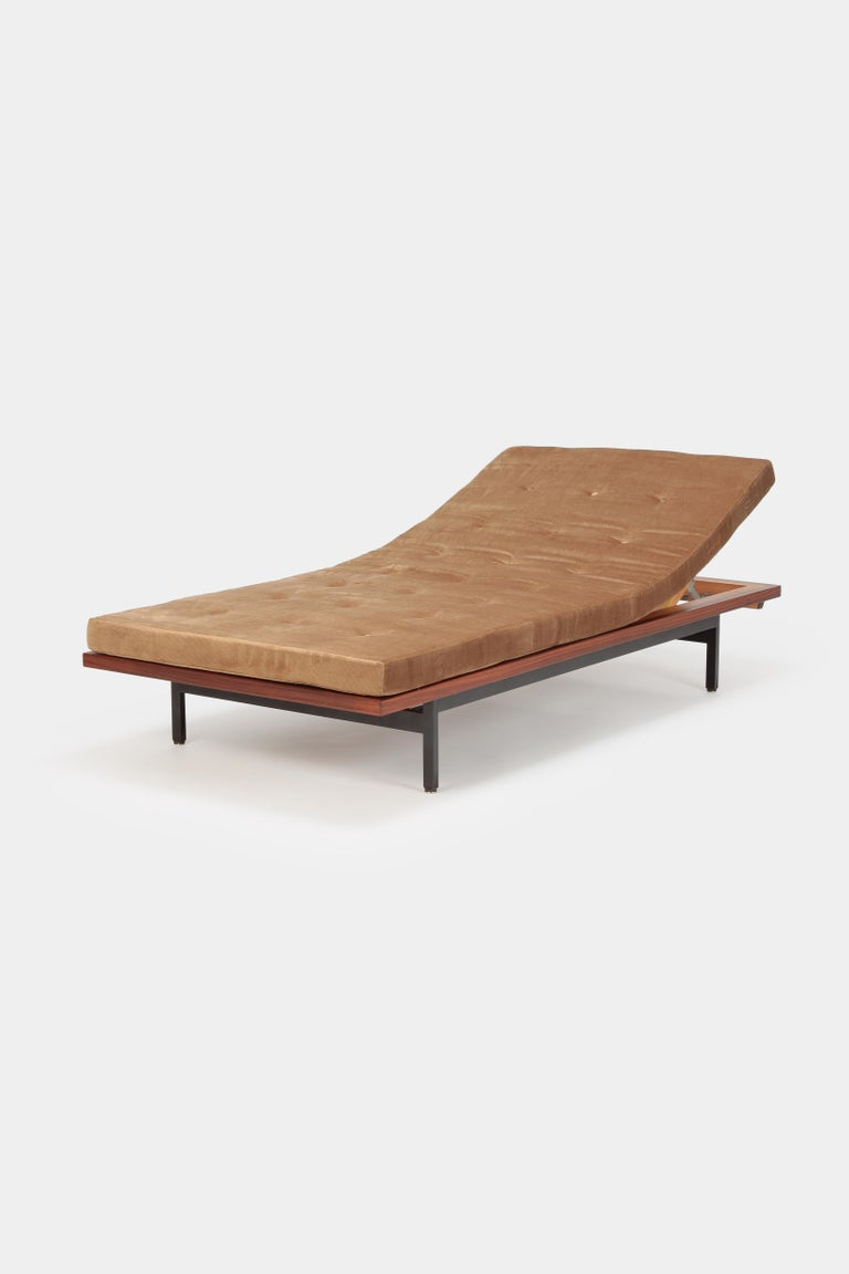 Mid-Century Modern Dieter Waeckerlin Daybed Idealheim, 1960s For Sale