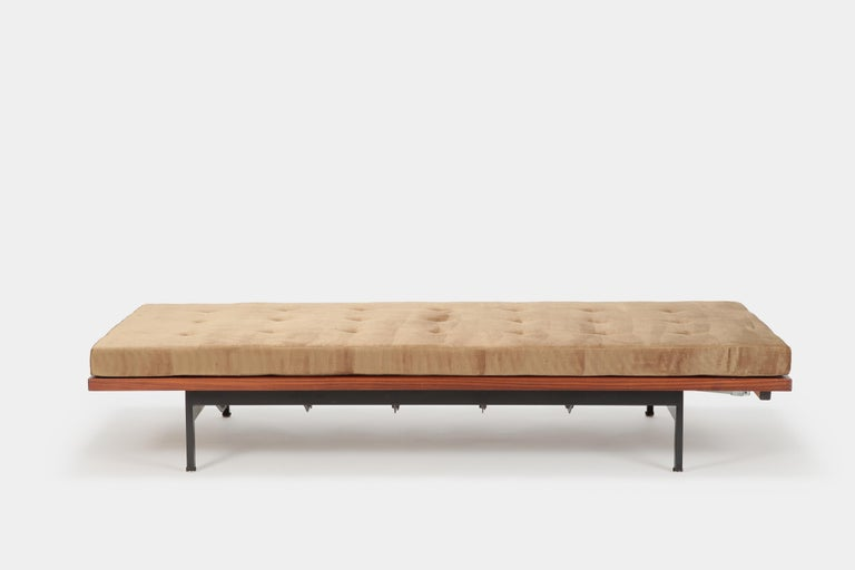 Swiss Dieter Waeckerlin Daybed Idealheim, 1960s For Sale