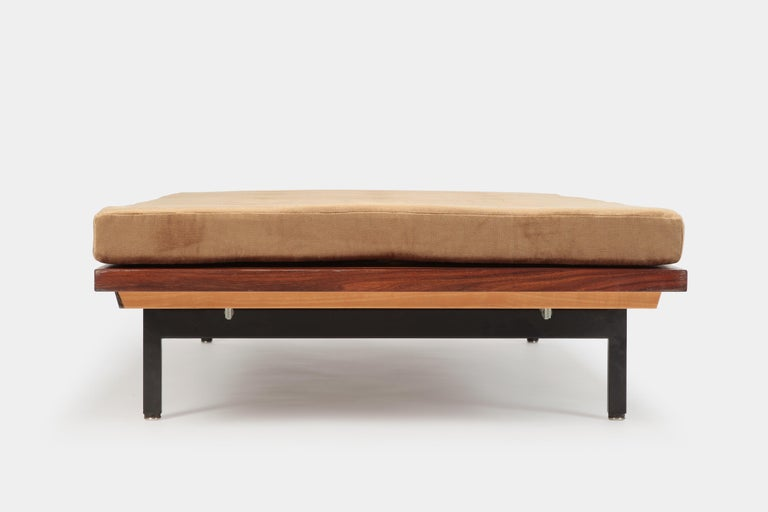 Lacquered Dieter Waeckerlin Daybed Idealheim, 1960s For Sale