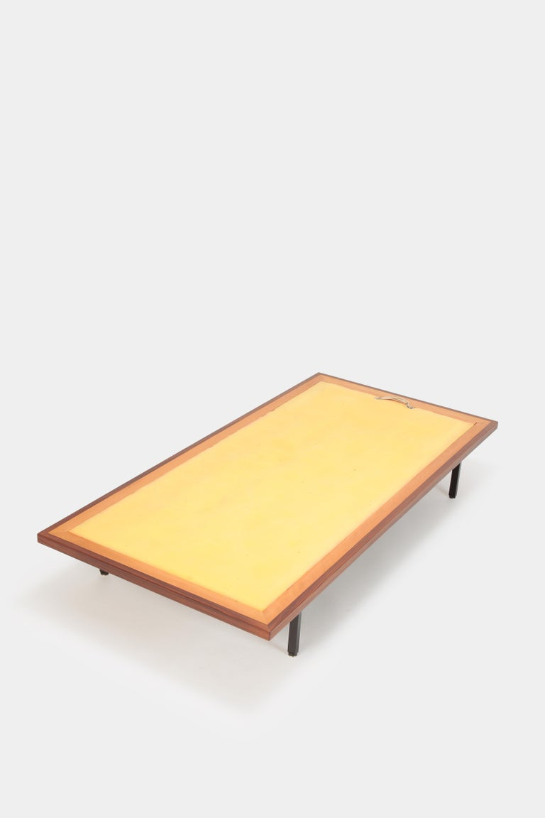 Dieter Waeckerlin Daybed Idealheim, 1960s In Good Condition For Sale In Basel, CH