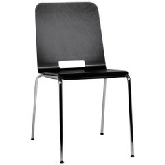 Dietiker Alta Modern Dining Chair, Designed by Greutmann Bolzern, in Stock