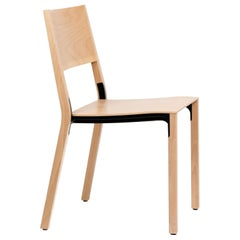 Dietiker Base Modern Dining Chair, Designed by Greutmann Bolzern, in Stock