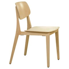 Dietiker Felber C14 Dining Chair, Patented Modularity, Natural Beech, in Stock