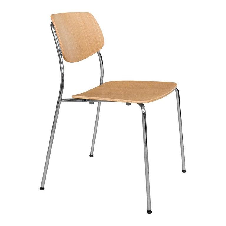 Dietiker Felber C14 Metal Dining Chair, Modular Design, Set of 4 In New Condition For Sale In Stein am Rhein, CH