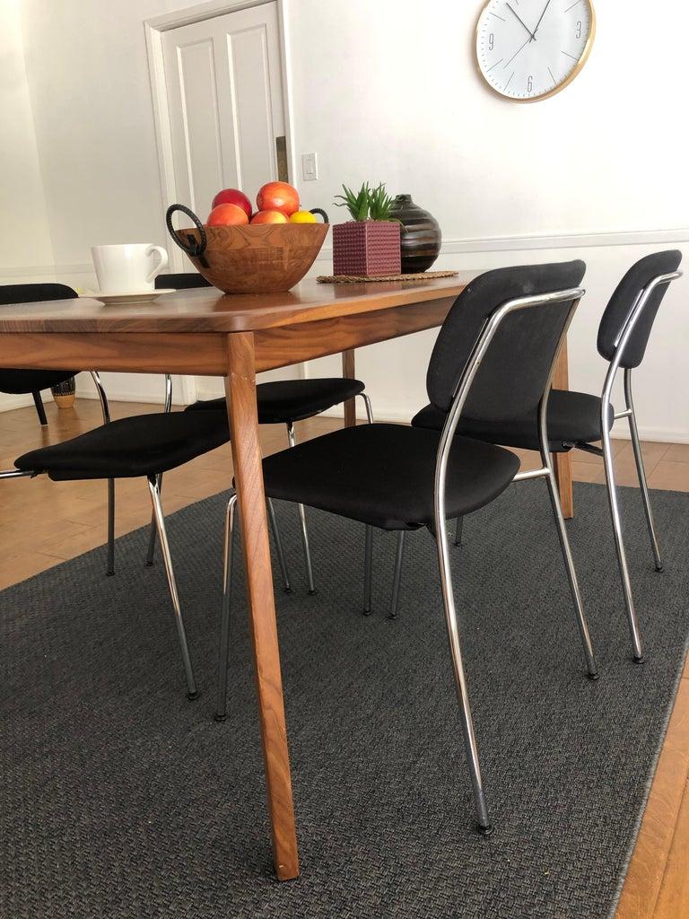Dietiker Felber C14 Metal Dining Chair, Modular Design, Set of 4 For Sale 2