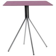 Dietiker Felber T18 Indoor/Outdoor Dining Folding Table, Burgundy Red, in Stock