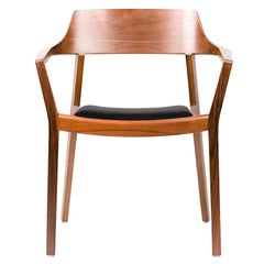 Dietiker Ono, Modern Swiss Dining Chair, in American Walnut Wood by This Weber