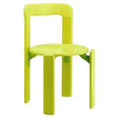 Dietiker Rey Jr chair, Mid-Century Modern, Green, by Bruno Rey '1971', In Stock