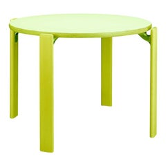 1971 Dietiker Rey Junior, Kids Activity Table in Green by Bruno Rey, in Stock