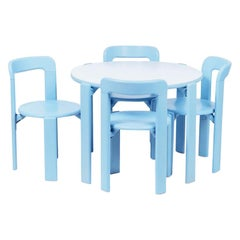 Dietiker Rey Junior Set, Kids Table and Chairs Designed by Bruno Rey