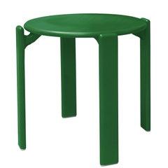 Dietiker Rey Stool, Green, Mid-Century Modern, Designed by Bruno Rey, 1971