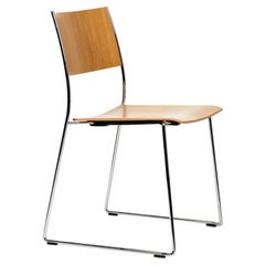 Dietiker Tila Dining Chair in Oak Wood Designed by Christoph Hindermann
