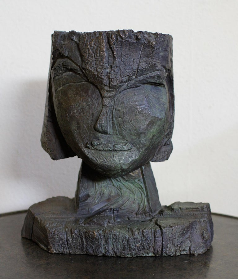 German Dietrich Klinge Bronze Head For Sale
