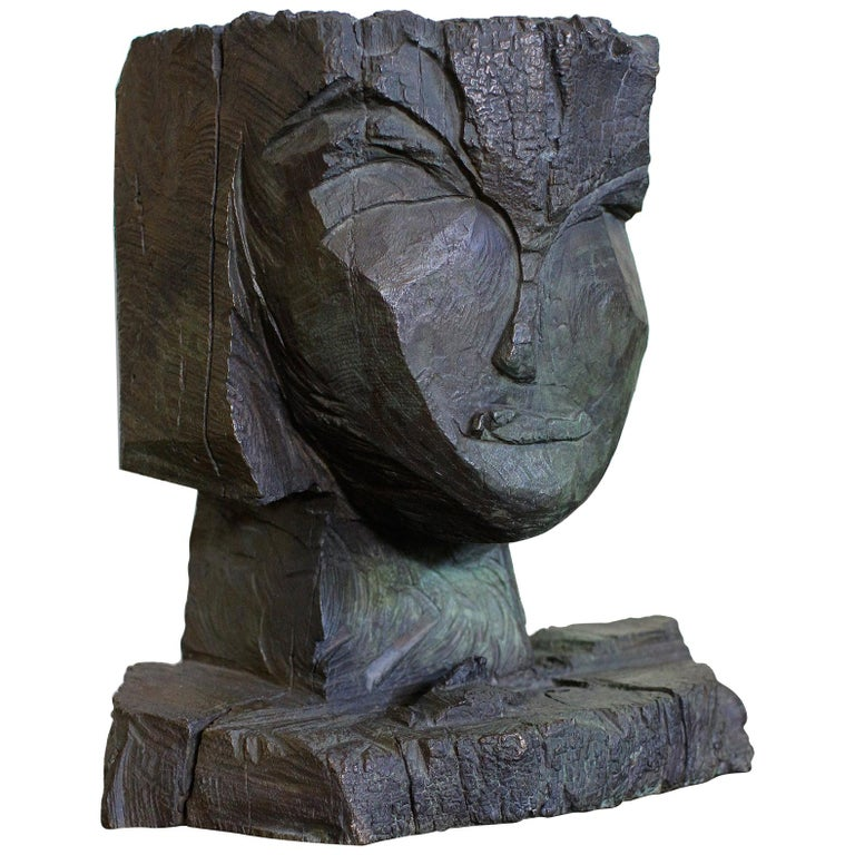 Dietrich Klinge Bronze Head For Sale