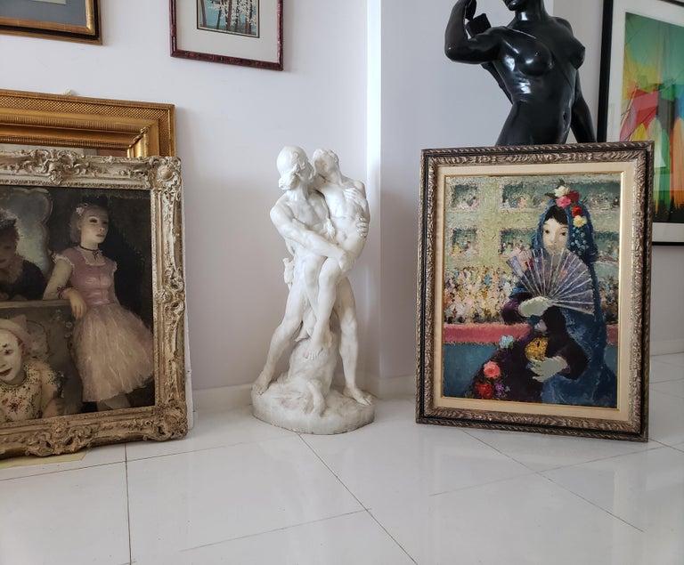 Au Bal Masque - Spanish girl at Opera - Like Degas For Sale 2