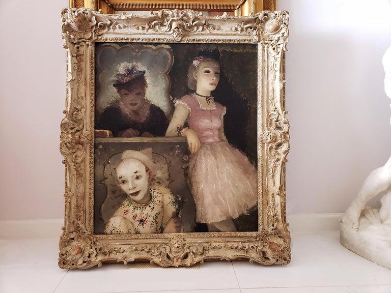 Ballerina, Clown and  Festival Performers Like Degas For Sale 6