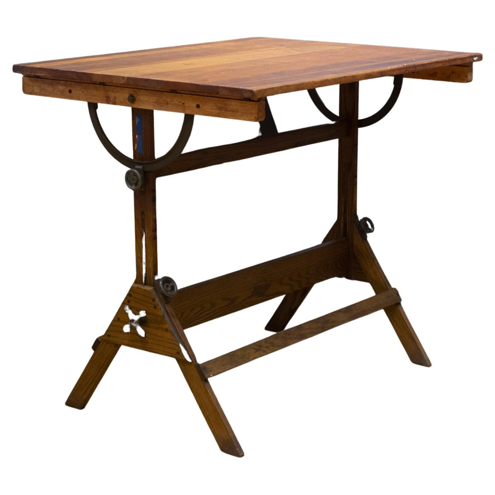 Dietzgen Drafting Table/Dining Table/Desk, c.1930
