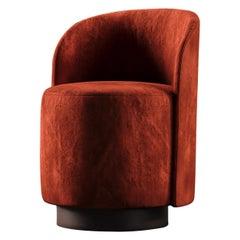 Dig It Chair Red Velvet