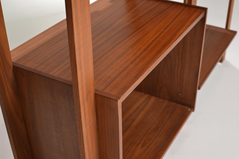 Late 20th Century Dillingham Free-Standing Walnut Wall Unit For Sale
