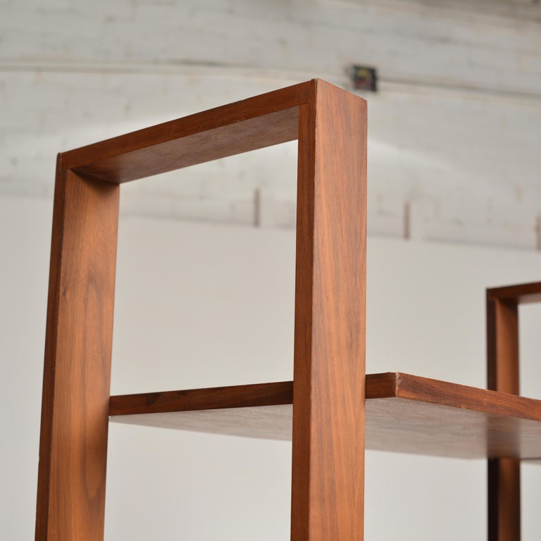 Dillingham Free-Standing Walnut Wall Unit For Sale 2