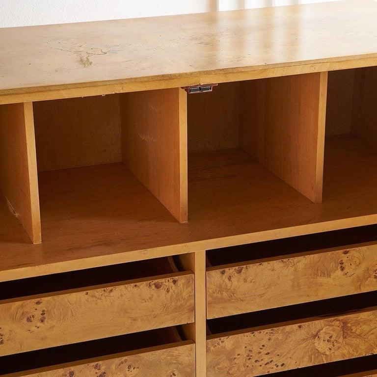 Dillingham Furniture Olive Burl Wood Armoire For Sale 6