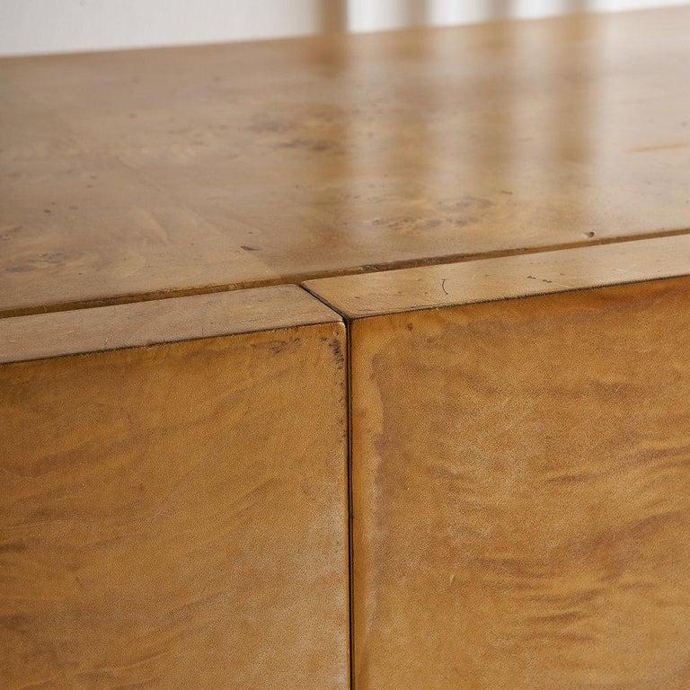 Dillingham Furniture Olive Burl Wood Armoire For Sale 7