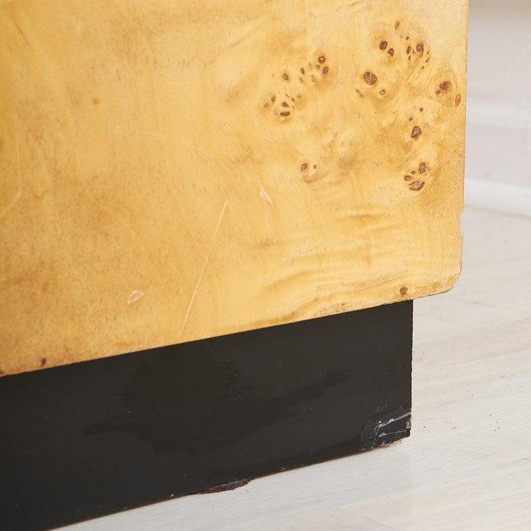Dillingham Furniture Olive Burl Wood Armoire For Sale 8