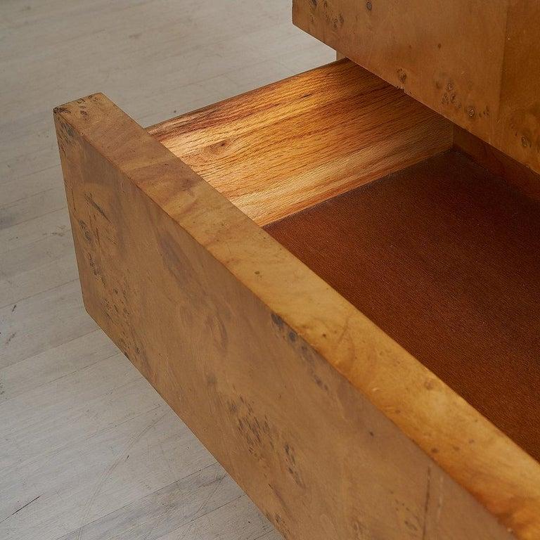 Dillingham Furniture Olive Burl Wood Armoire For Sale 9