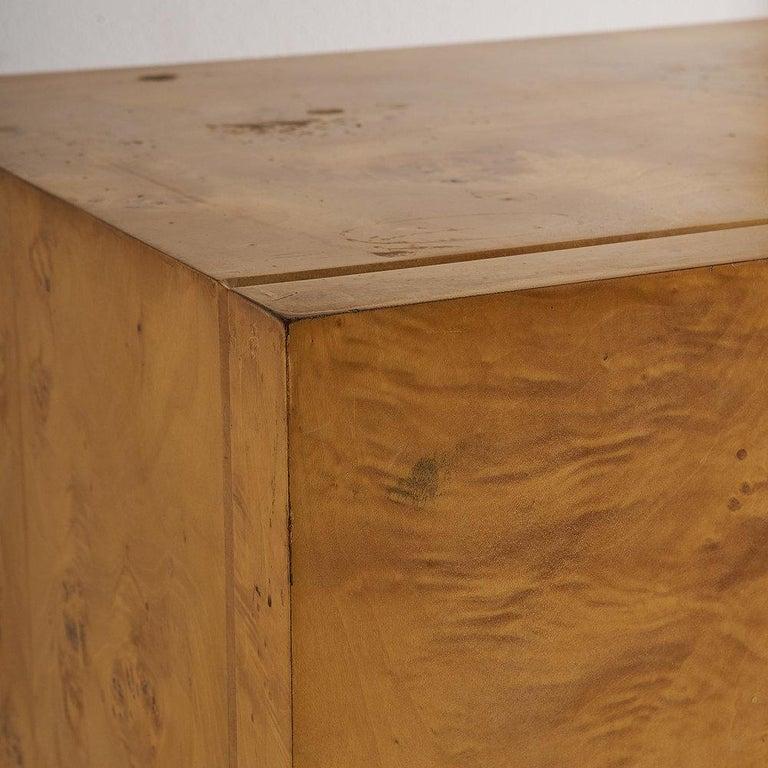 Dillingham Furniture Olive Burl Wood Armoire For Sale 1
