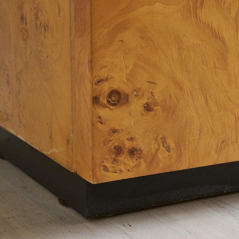 Dillingham Furniture Olive Burl Wood Armoire For Sale 2