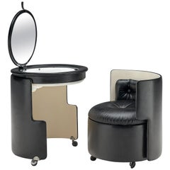 'Dilly Dally' Modular Vanity Table and Chair