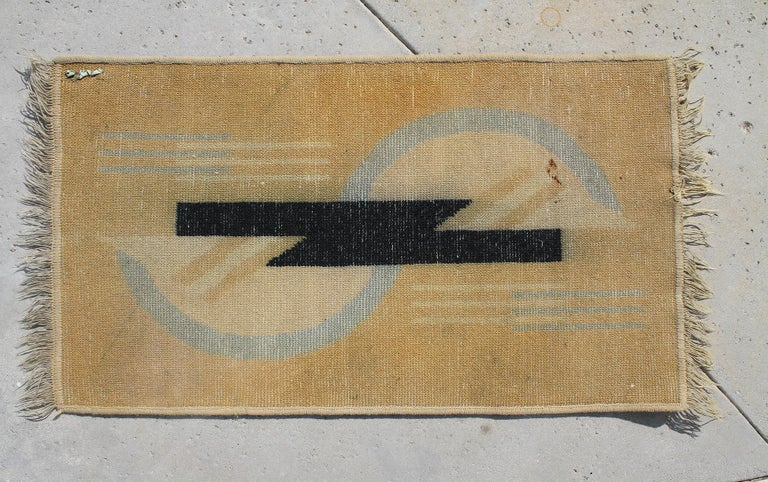 Early 20th Century DIM, Art Deco Rug, 1929 For Sale