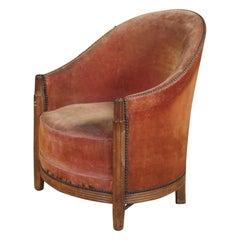 DIM 'Joubert et Petit' Boudoir Chair