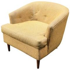 Diminutive 1960s Selig Lounge Chair