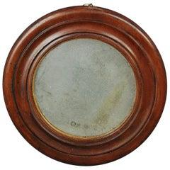 Diminutive 19th Century Circular Mirror