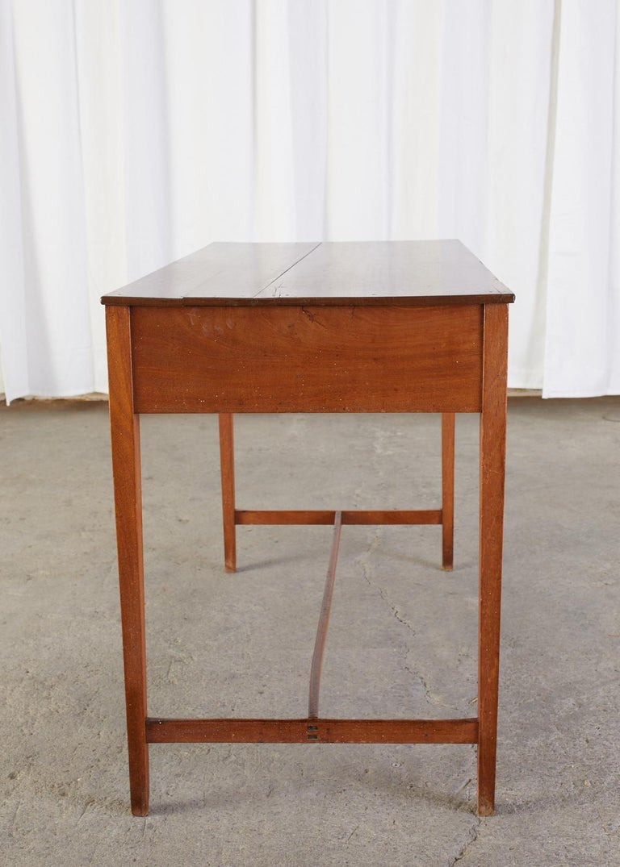 Diminutive American Federal Mahogany Writing Table Desk For Sale 8