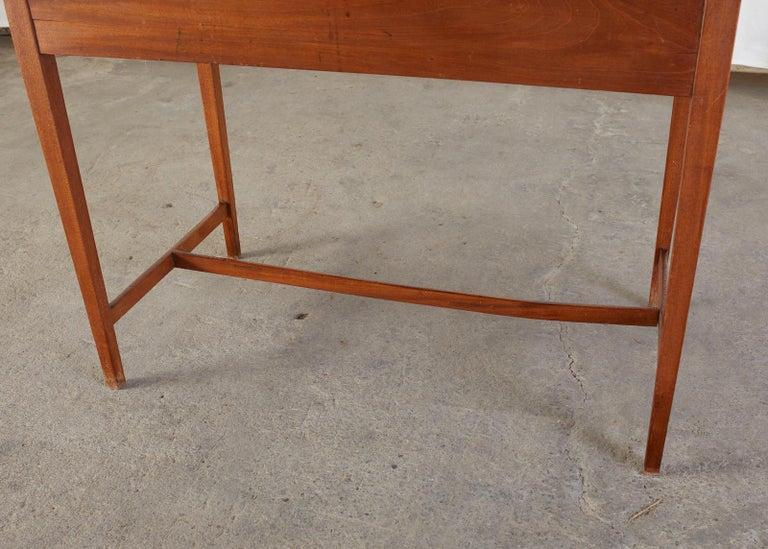Diminutive American Federal Mahogany Writing Table Desk For Sale 10
