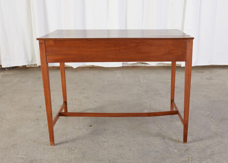 Diminutive American Federal Mahogany Writing Table Desk For Sale 11