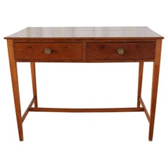 Diminutive American Federal Mahogany Writing Table Desk