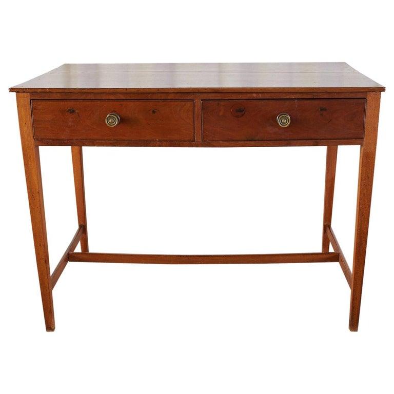 Diminutive American Federal Mahogany Writing Table Desk For Sale