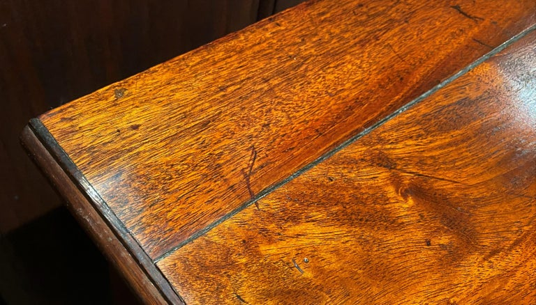 Diminutive Chippendale Mahogany Chest Adapted From a Larger 18th Century Chest For Sale 3