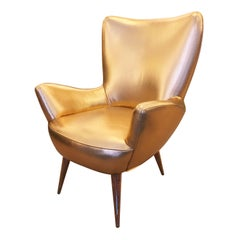 Diminutive Italian Mid-Century Armchair